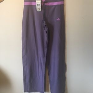 NWT adidas size medium flare pants.